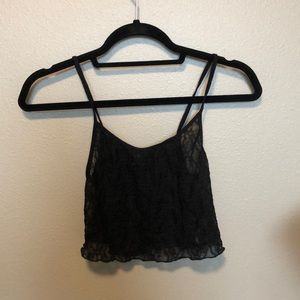 Black Lace Urban Outfitters Tank
